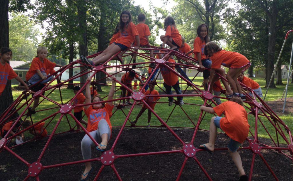 Elementary Playground with kids 2